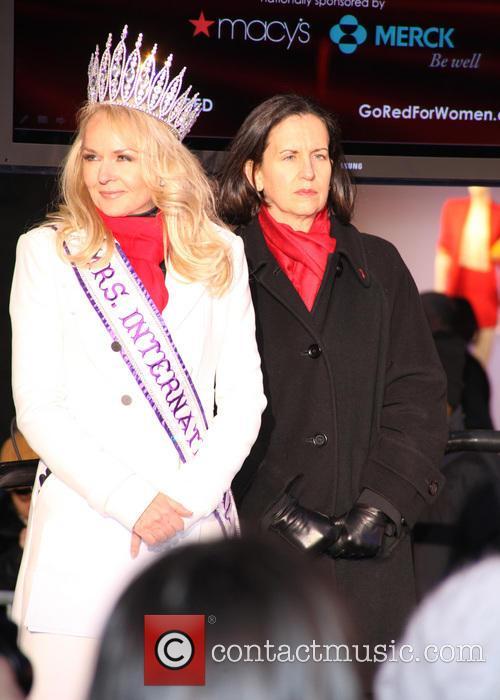 Mrs. International 2012, Sarah Bazey and Medical Account Executive 1
