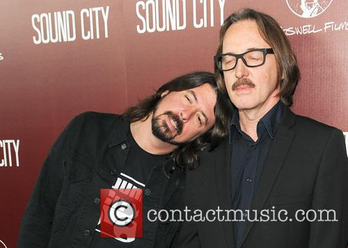 Butch Vig and Dave Grohl 1
