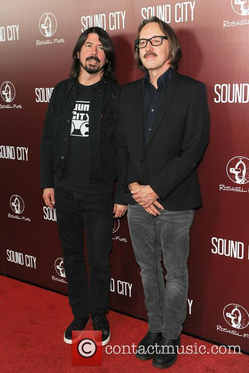 Butch Vig and Dave Grohl 2