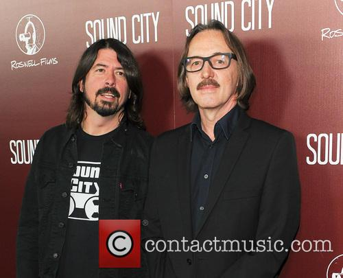 Butch Vig and Dave Grohl 3