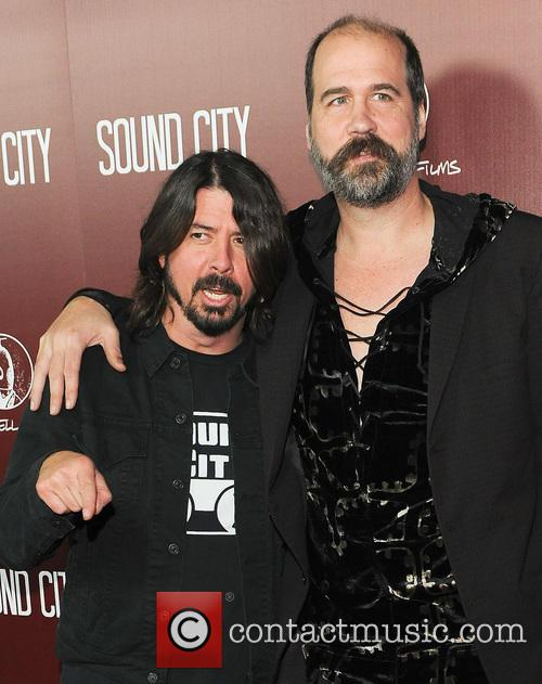 Dave Grohl and Krist Novoselic 2