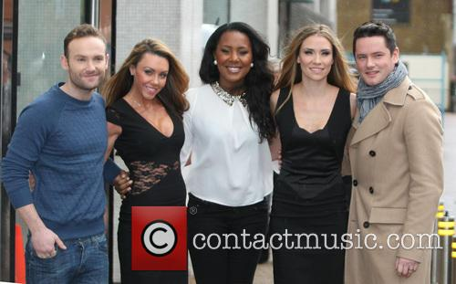 Kevin Simm, Michelle Heaton, Kelli Young, Jessica Taylor, Tony Lundon and Liberty X 2