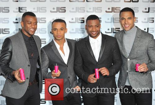 JLS fragrance launch held at One Mayfair