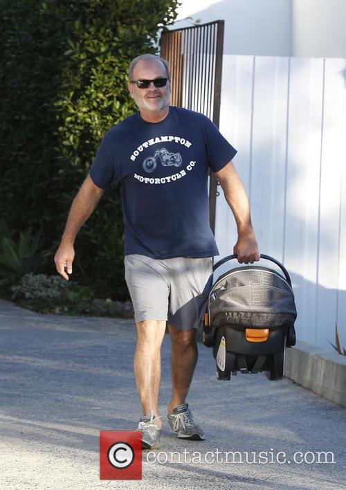 kelsey grammer faith grammer kelsey grammer seen leaving a 3477663