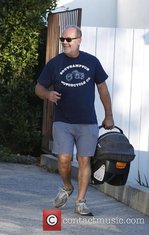 kelsey grammer faith grammer kelsey grammer seen leaving a 3477664