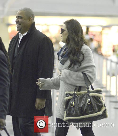 Khloe Kardashian Odom arriving at JFK in New...