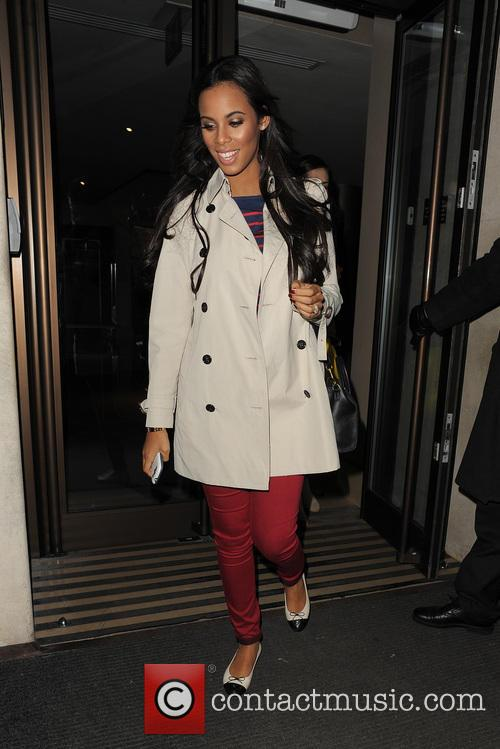 Rochelle Wiseman, Rochelle Humes and The Saturdays 1