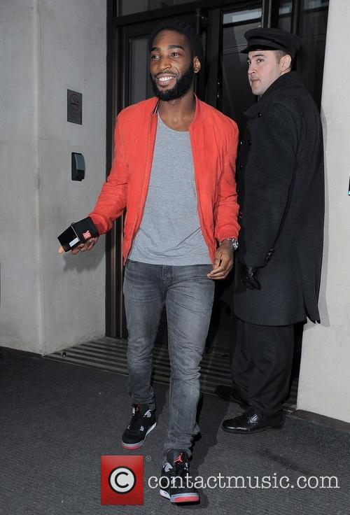 tinie tempah celebrities at the may fair hotel 3476747