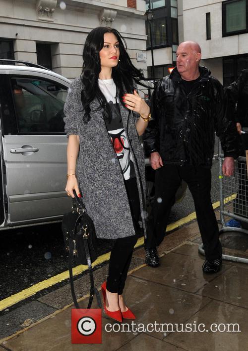 Jessie J at the BBC Radio 2 studios