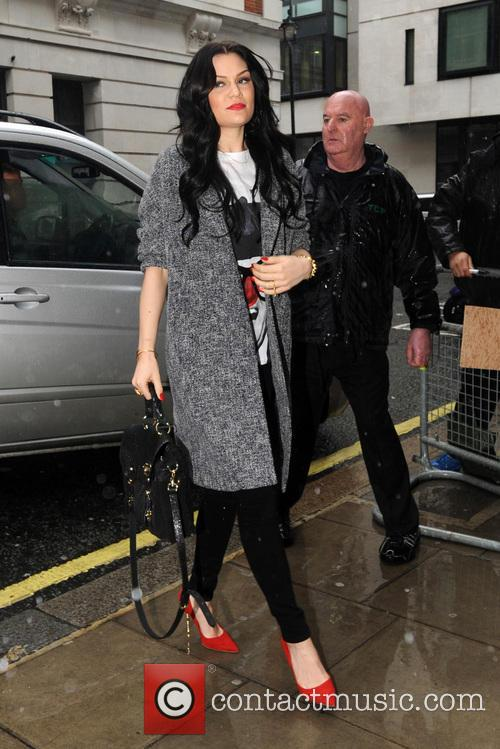 Jessie J at the BBC Radio 2 studios