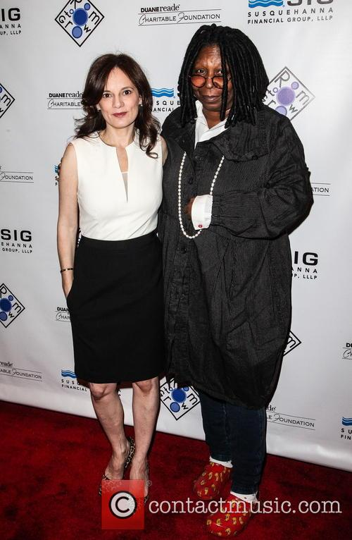 Julie Burns and Whoopi Goldberg 2