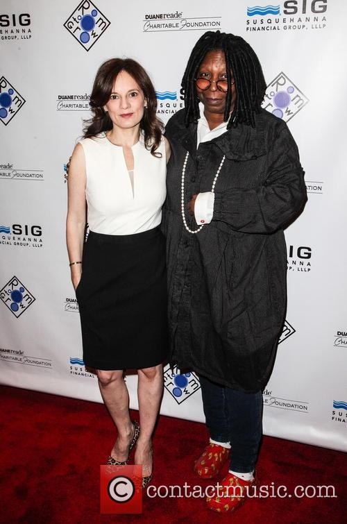 Julie Burns and Whoopi Goldberg 3