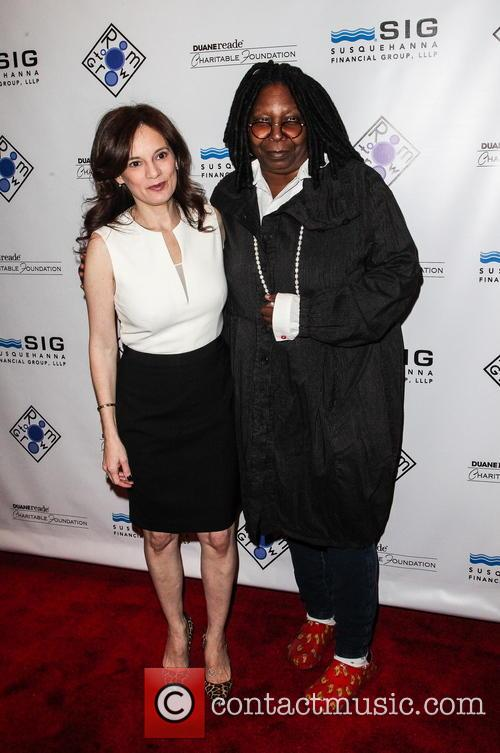 Julie Burns and Whoopi Goldberg 4
