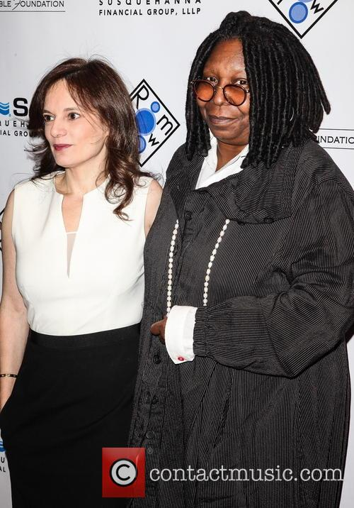 Julie Burns and Whoopi Goldberg 5