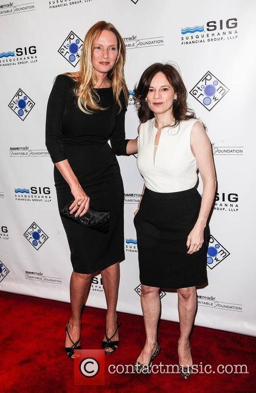uma thurman julie burns 'room to grow' gala 3483374