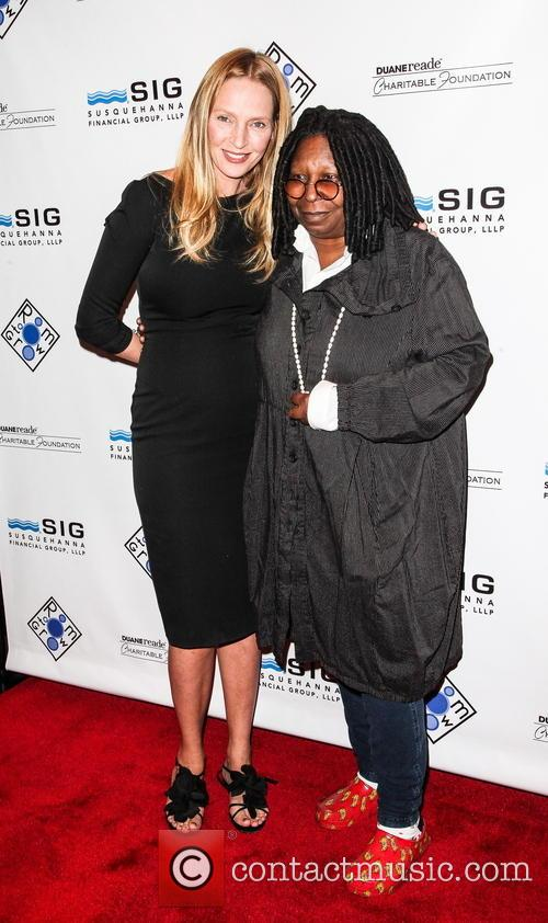 Uma Thurman and Whoopi Goldberg 10