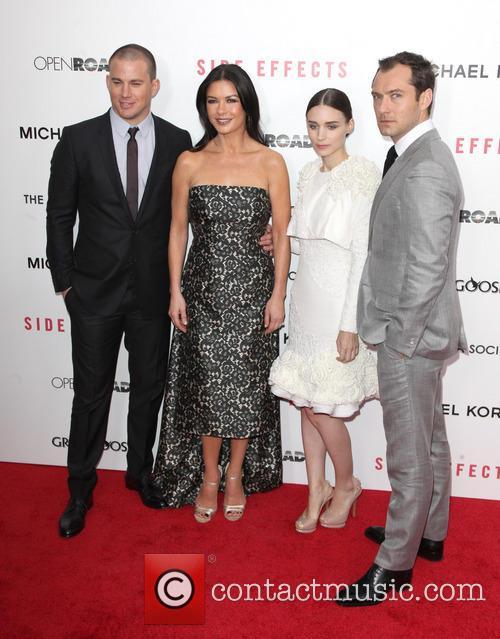 Channing Tatum, Catherine Zeta-Jones, Rooney Mara, Jude Law, AMC Lincoln Loews Theater Lincoln Square NYC