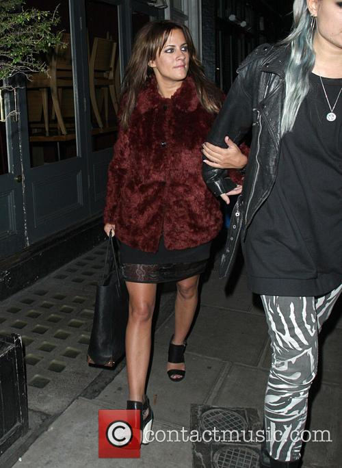 caroline flack celebrities leaving groucho club 3477108