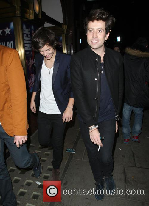 Harry Styles and Nick Grimshaw 10