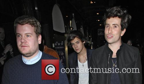 Nick Grimshaw, James Corden, Harry Styles