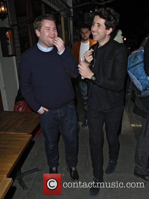 James Corden and Nick Grimshaw 8