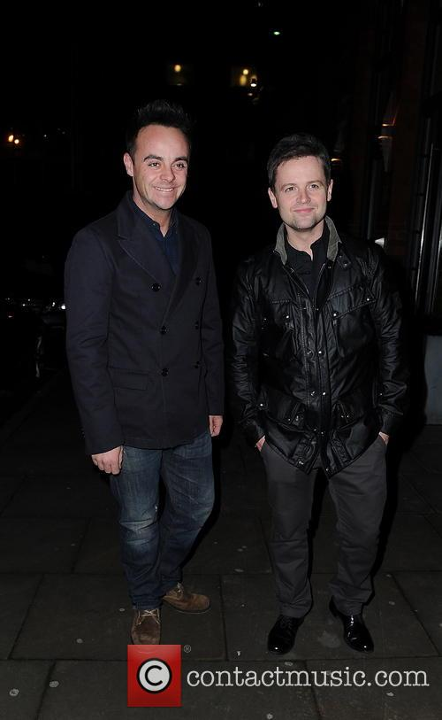 Ant and Dec leave their Manchester Hotel