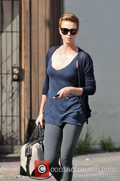 charlize theron charlize theron seen leaving her dance 3478152