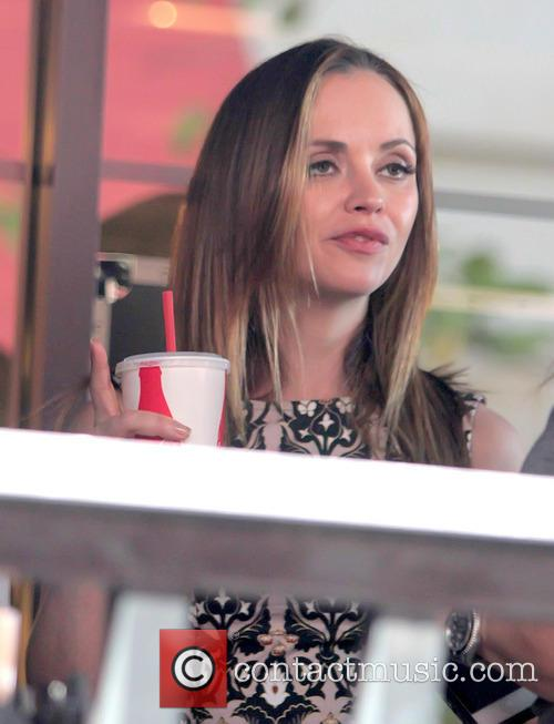 christina ricci christina ricci at the grove 3478137
