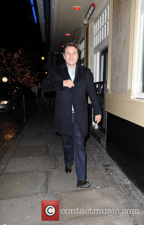 David Walliams seen out and about in Manchester...