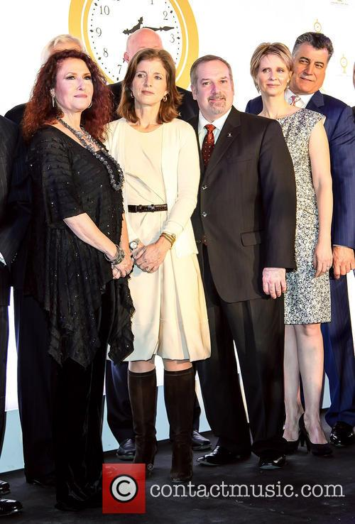 Melissa Manchester, Caroline Kennedy, Keith Hernandez and Cynthia Nixon 2