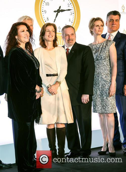 Melissa Manchester, Caroline Kennedy, Keith Hernandez and Cynthia Nixon 1