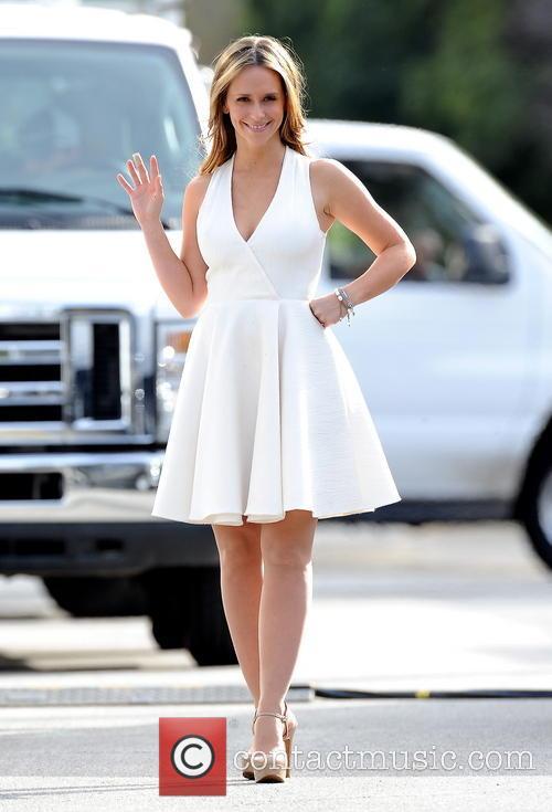 Jennifer Love Hewitt seen on the of 'The Client List'