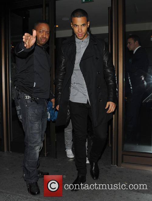 marvin humes jls seen leaving the mayfair hotel 3477448