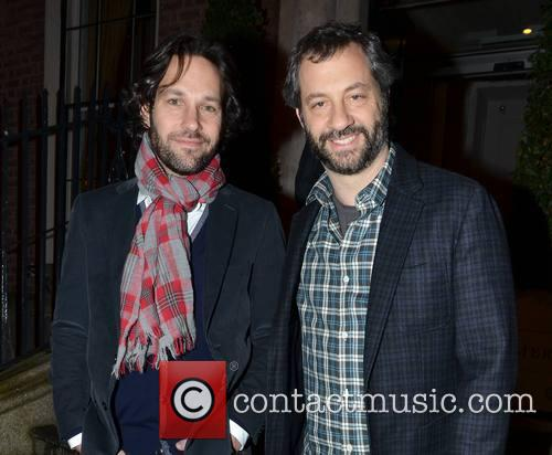 Paul Rudd and Judd Apatow 2