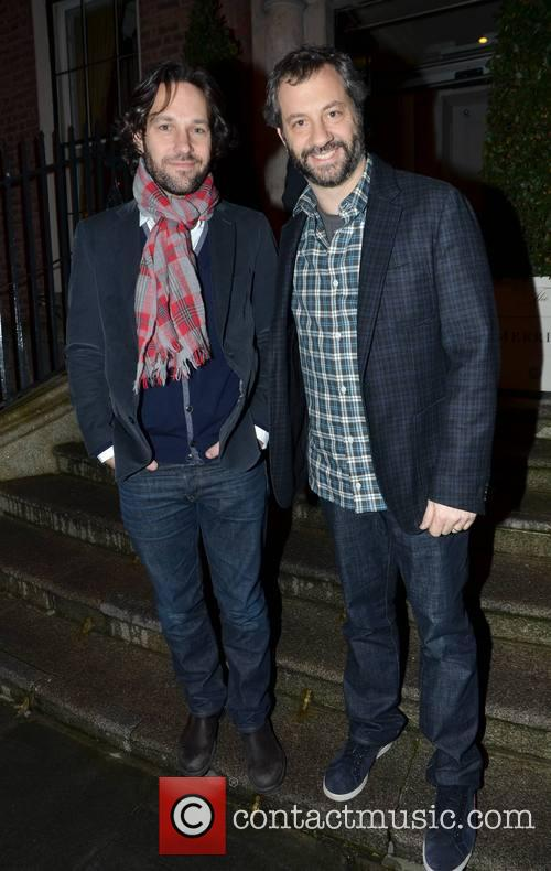 Paul Rudd and Judd Apatow 1