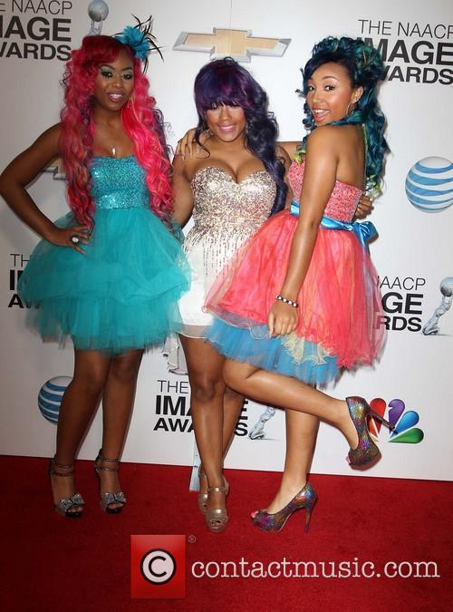 Bahja Rodriguez, Breaunna Womack and Zonnique 1
