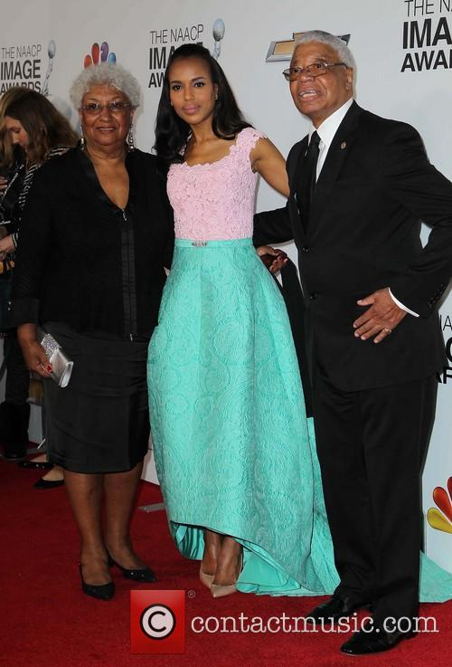 kerry washington with parents valerie washington earl washington 44th naacp 3478563