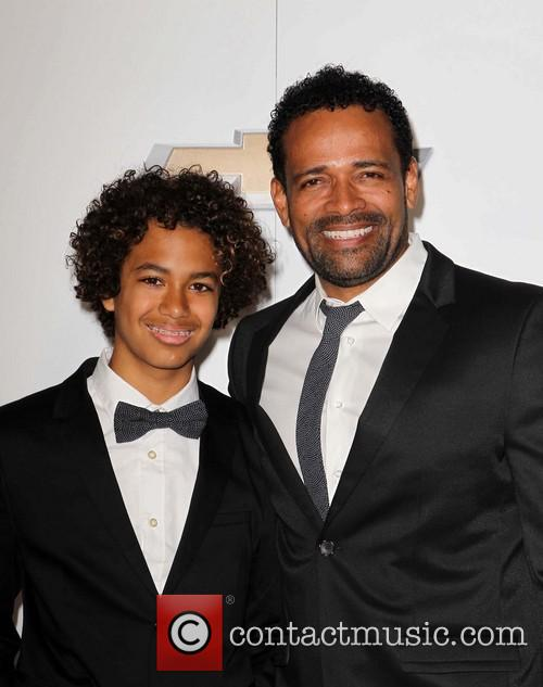Mario Van Peebles and Mandela Van Peebles