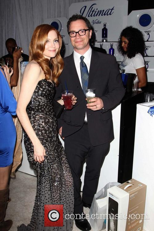Darby Stanchfield and Joshua Malina 1