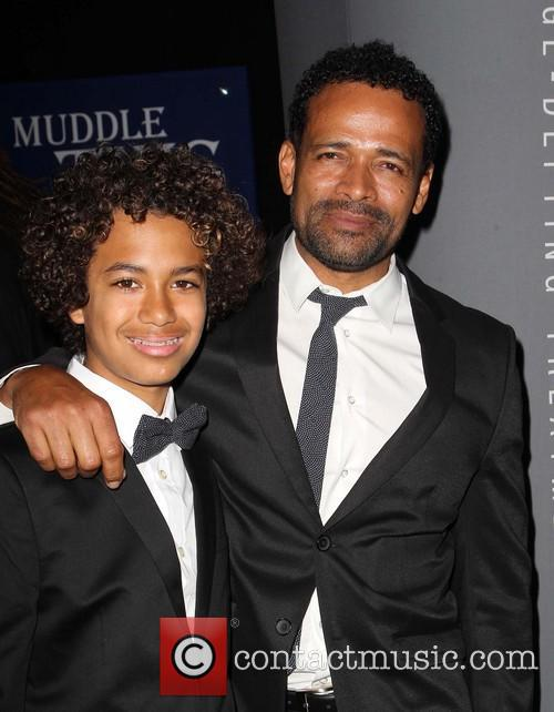 Mario Van Peebles and Mandela Van Peebles 1