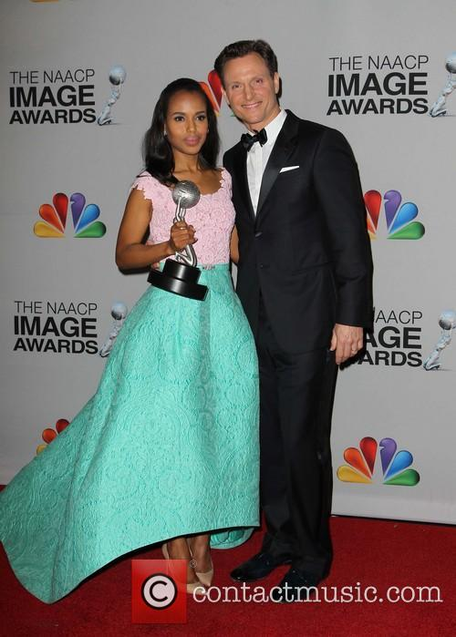 Kerry Washington and Tony Goldwyn 9