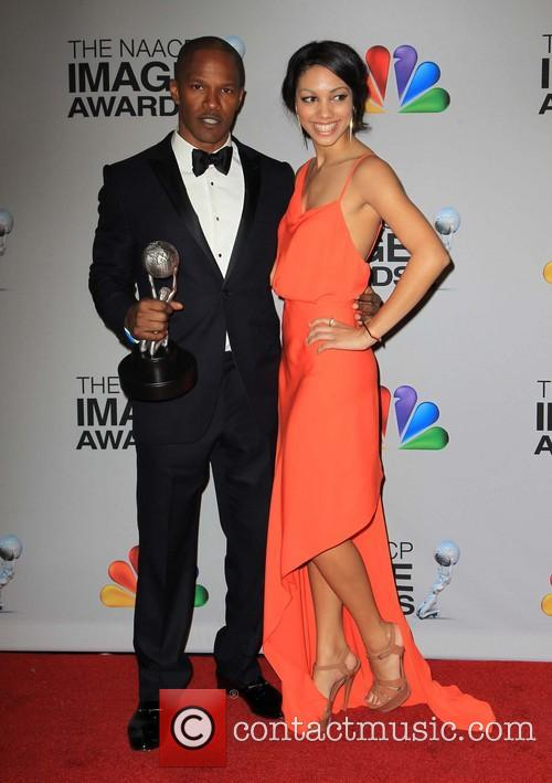 Jamie Foxx and Corinne Bishop 2