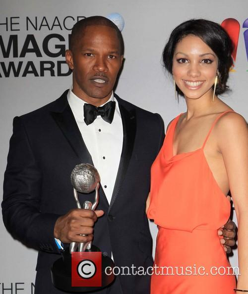Jamie Foxx and Corinne Bishop 3