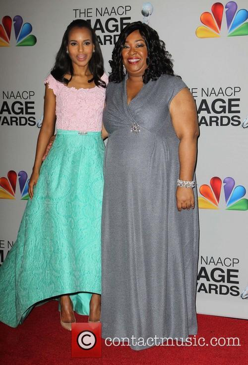Kerry Washington and Shonda Rhimes 2