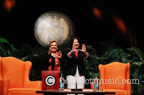 Sonia Sotomayo and Donna Shalala 2