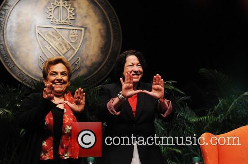 Sonia Sotomayo and Donna Shalala 4