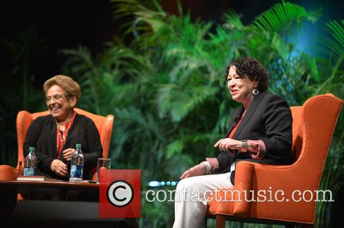 Sonia Sotomayo and Donna Shalala 5
