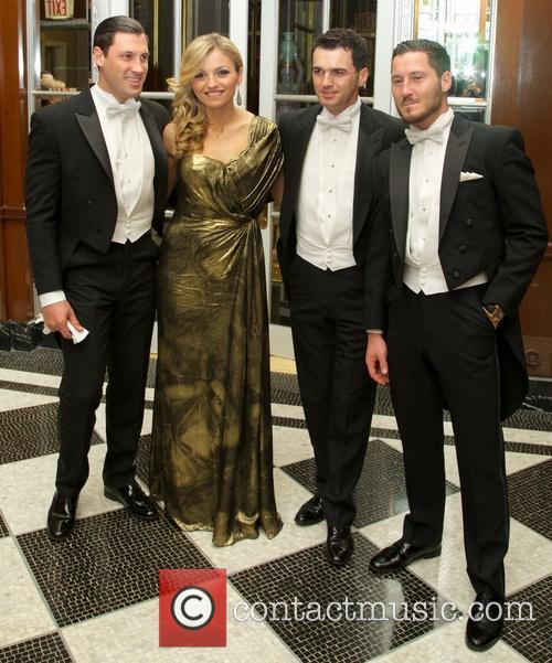Maksim Chmerkovskiy, Lina Dovolani, Tony Dovolani and Val Chmerkovskiy 4