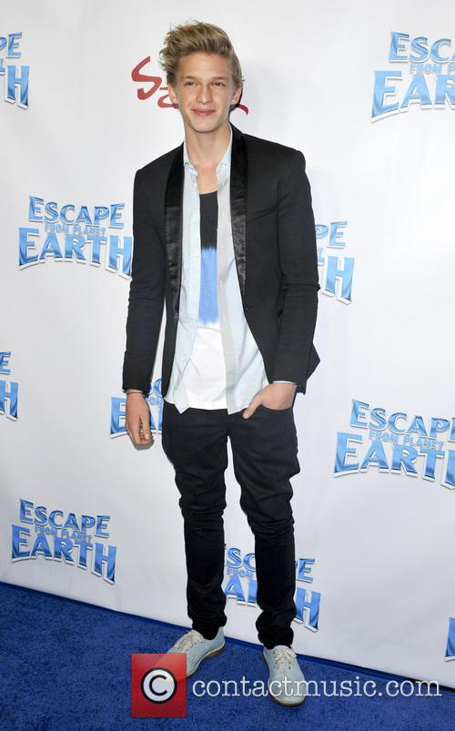 cody simpson escape from planet earth premiere 3480215