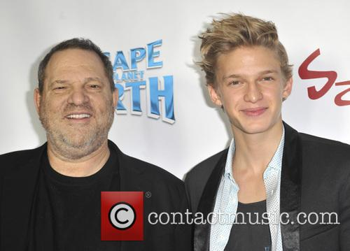 harvey weinstein cody simpson escape from planet earth premiere 3480194